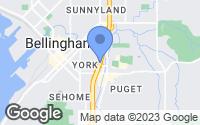 Map of Bellingham, WA