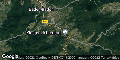 Google Map of Baden-Baden