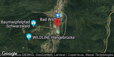 Google Map of Bad Wildbad