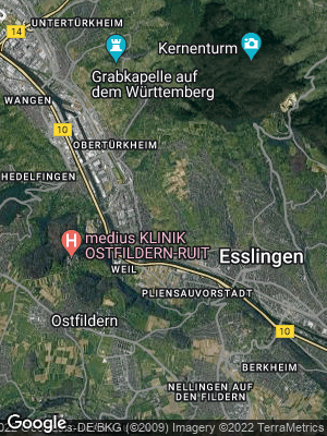 Google Map of Mettingen