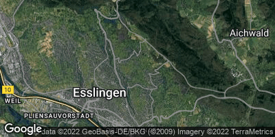 Google Map of Liebersbronn