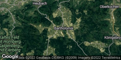 Google Map of Bartholomä