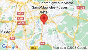 Carte de localisation du centre de contrôle technique VALENTON
