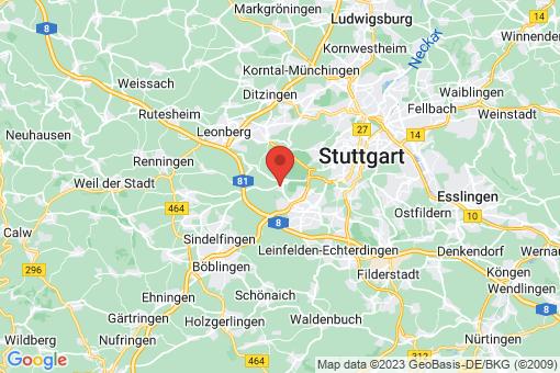 Karte Stuttgart Büsnau
