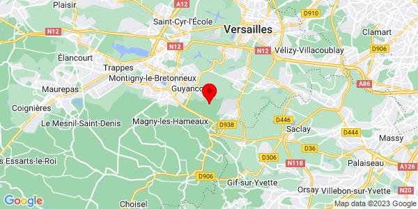 Google Map of 48.7525104,2.0917056