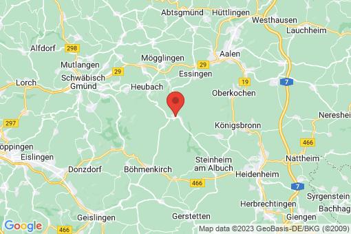 Karte Bartholomä