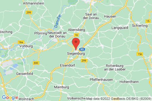 Karte Siegenburg