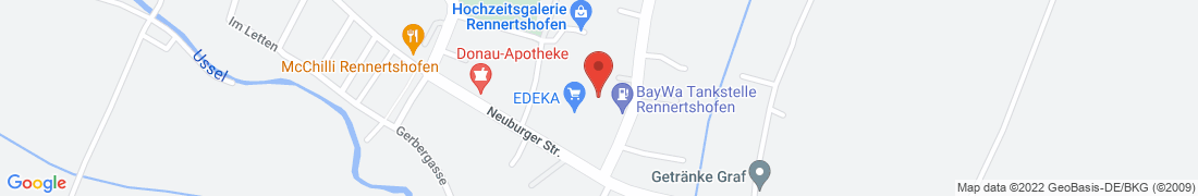 BayWa Technik Rennertshofen Anfahrt