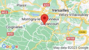 Carte de localisation du centre de contrôle technique VOISINS LE BRETONNEUX