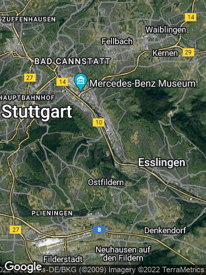 Google Map of Hedelfingen