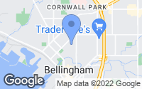 Map of Bellingham, WA