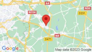 Carte de localisation du centre de contrôle technique OZOIR LA FERRIERE