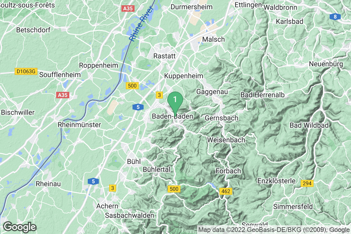 Google Map of Klinik Dr. Franz Dengler