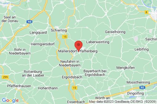 Karte Mallersdorf-Pfaffenberg