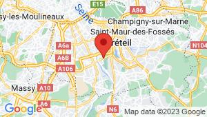 Carte de localisation du centre de contrôle technique CHOISY