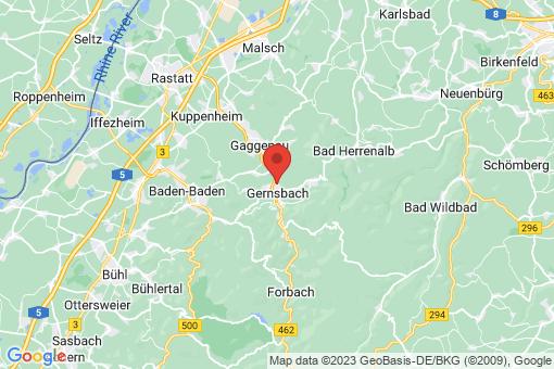 Karte Gernsbach