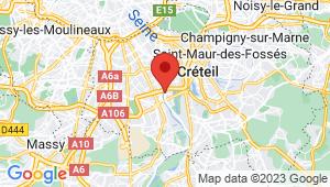 Carte de localisation du centre de contrôle technique CHOISY LE ROI