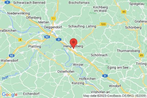 Karte Hengersberg