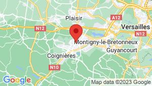 Carte de localisation du centre de contrôle technique ELANCOURT