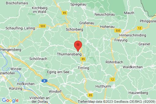 Karte Saldenburg