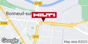 Get directions to Espace Hilti - La Plateforme du Bâtiment - Bonneuil sur Marne