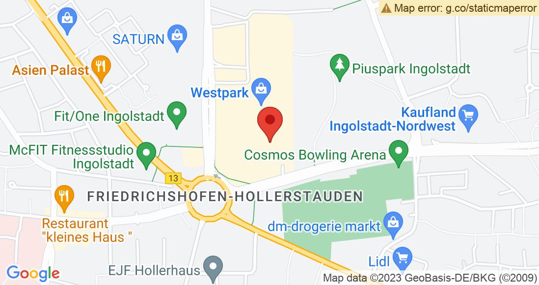 Google Map SPORT 2000 Ingolstadt