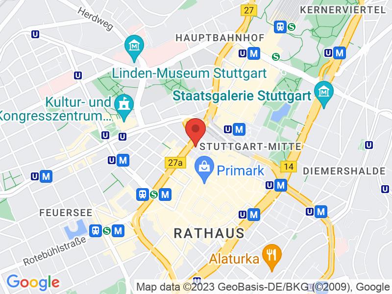 Map of Deutsche Bank AG