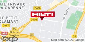 Hilti Store chez Point P - Les Ulis
