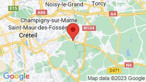 Carte de localisation du centre de contrôle technique LA QUEUE EN BRIE
