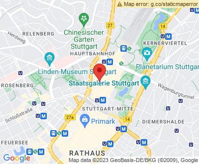 Anfahrt zu Alles Clean 24 Stuttgart - DE-ST