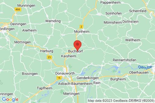 Karte Buchdorf