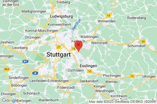 Karte Stuttgart Rotenberg