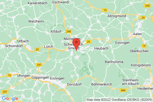 Karte Schwäbisch Gmünd