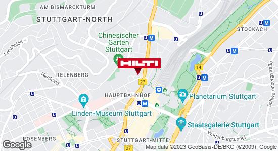 Hilti Store Stuttgart