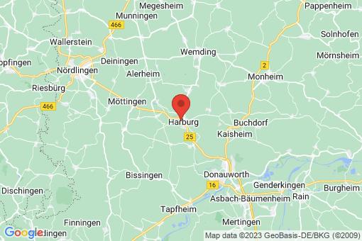 Karte Harburg