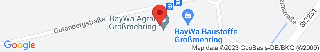BayWa AG Interpark, Großmehring Anfahrt