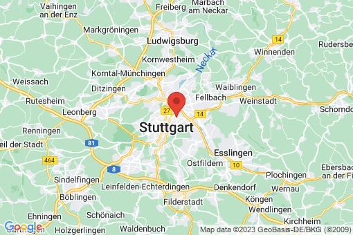 Karte Stuttgart Stuttgart-Mitte