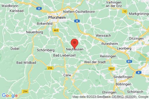 Karte Neuhausen