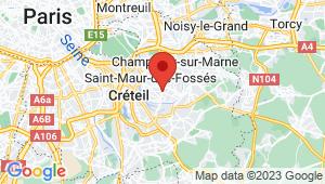 Carte de localisation du centre de contrôle technique LA VARENNE SAINT HILAIRE