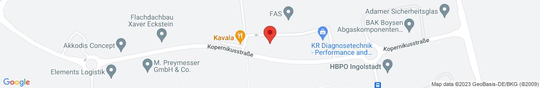BayWa Haustechnik Kösching Anfahrt