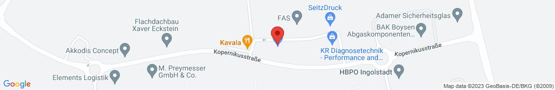 BayWa Haustechnik GmbH Kösching Anfahrt