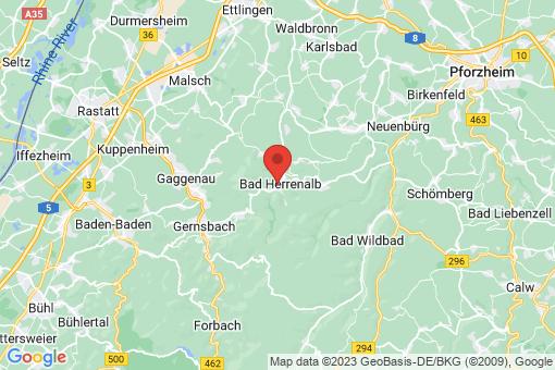 Karte Bad Herrenalb
