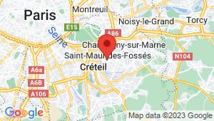 Carte de localisation du centre de contrôle technique SAINT MAUR DES FOSSES