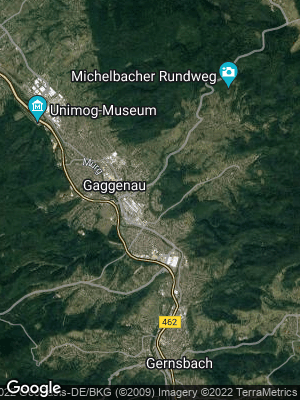 Google Map of Gaggenau