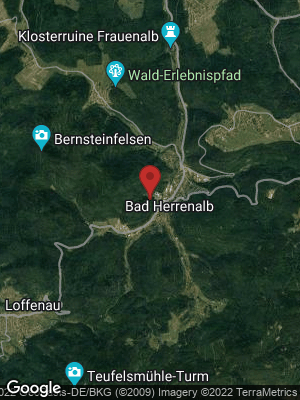 Google Map of Bad Herrenalb