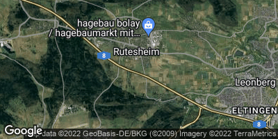 Google Map of Rutesheim