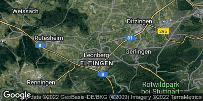 Google Map of Leonberg