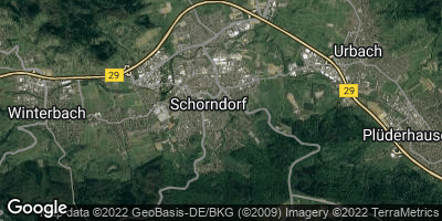 Google Map of Schorndorf