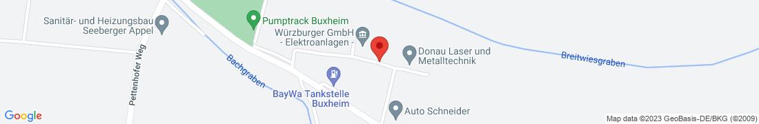 BayWa Tankstelle Buxheim Anfahrt