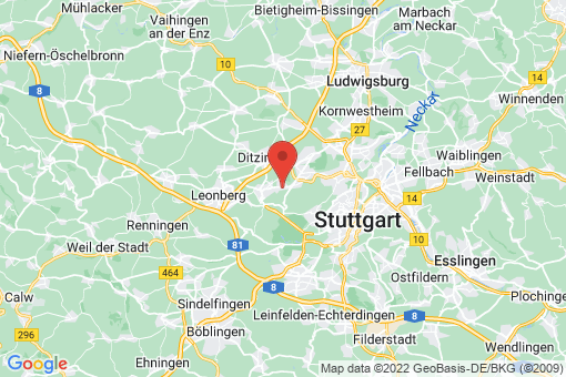 Karte Stuttgart Bergheim